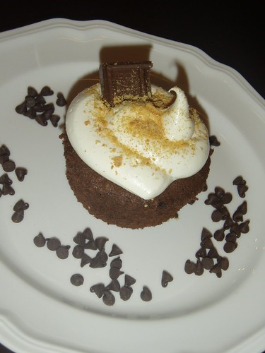 S'mores Cupcake by L's Cupcake Cafe.