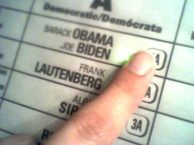 voted this morning!