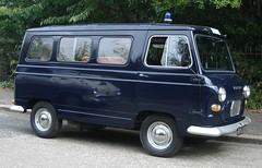 Vanguard Police Van