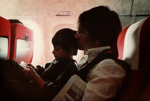 Volare con i bambini