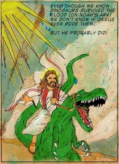 Jesus dino