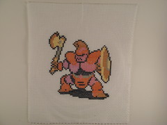 Armored Knight (benjibot) Tags: crossstitch crafts videogames knight nes dragonwarrior