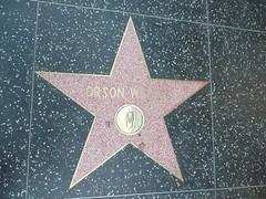 Orson Welles (thribble) Tags: usa stars la pavement sidewalk hollywood nov08
