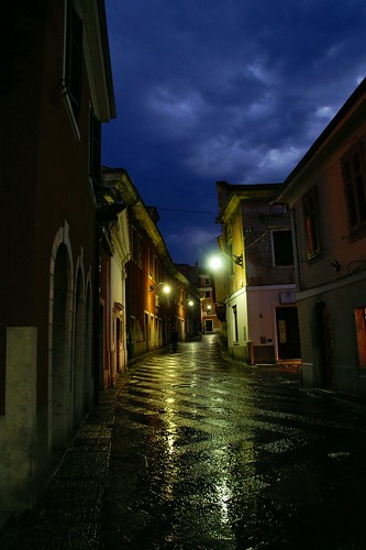 """Stormy night at Koper (Capodistria) • <a style=""""font-size:0.8em;"""" href=""""http://www.flickr.com/photos/26679841@N00/3054022256/"""" target=""""_blank"""">View on Flickr</a>"""