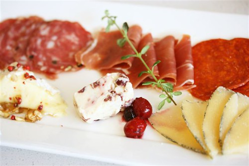 cheese and cold cuts plate
