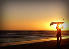 Day's End (*~Dawn~*) Tags: california sunset santacruz surf surfer kitesurfing kitesurfer waddellbeach platinumphoto
