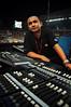 The sound engineer (DSC_8998) (Fadzly @ Shutterhack) Tags: portrait man nightshot panel stadium stage noflash nikond50 malaysia openingceremony terengganu soundengineer tamronspaf1750mmf28xrdiiildasphericalif shutterhack sukma2008 nikonstunnionggallery