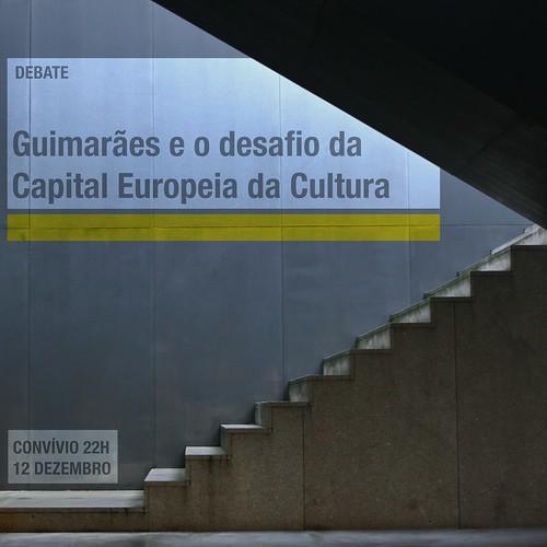 Divulgação: Debate sobre a cultura em Guimarães