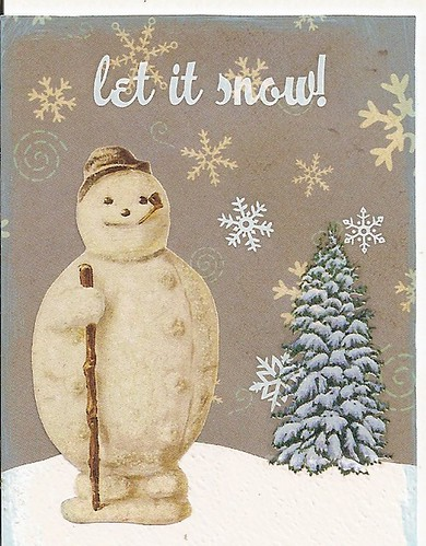 4 Let it snow, said the snowman