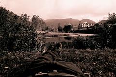 My new view (Pierre Stachurska) Tags: india 28mm ilfordxp2 munnar contaxg2 mynewview pierrestachurska