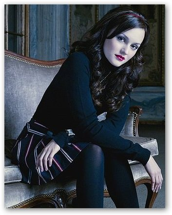 Leighton Meester Looking Goth