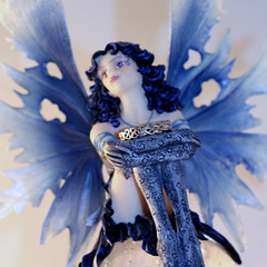 Ring Guardian (Julia-D) Tags: blue wedding ring fairy mywinners