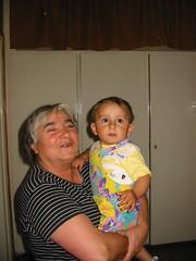 Lucia met kleinkind