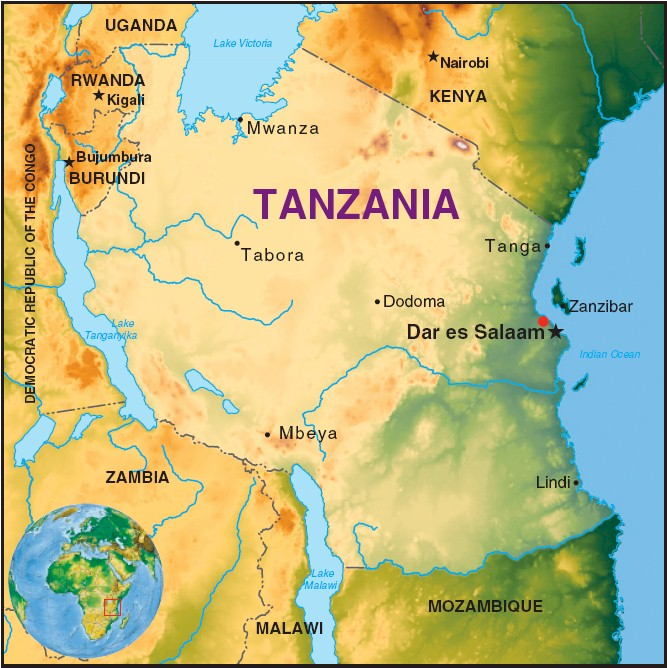 Lake Tanganyika On A Map Of Africa.Evolution Of Squeaker Catfishes In Africa S Lake Tanganyika