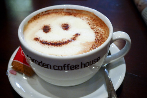 Coffee Break: Soy Cappuccino at Camden Coffee House
