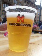 Beer (Abi Skipp) Tags: beer switzerland basel andreasplatz feldschlosschen