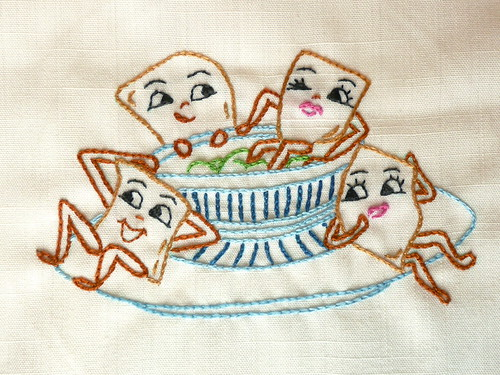 Taco Chips Embroidery