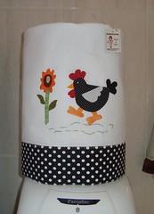 capa p galo de 20 litros (PATCH & VIDA) Tags: patchwork decorao cozinha panosdeprato patchcolagem portagalodeagua capasparagalodeagua