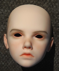 Ash (Leeke Mihael) stage 4 (Red_Bloduewedd) Tags: doll bjd resin faceup leeke mihael leekeworld