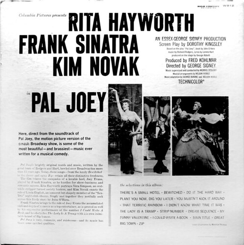 Pal Joey LP_bk_tatteredandlost