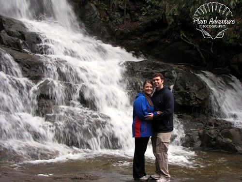 Kenny and Karen at Laurel Falls2