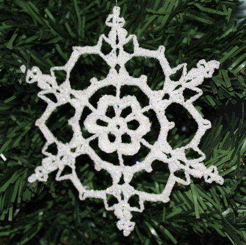 Crocheted Free Pattern Snowflake Crochet And Knitting