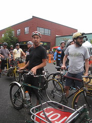 Cirque du Cycling_27 (METROFIETS) Tags: green beer bicycle oregon garden portland construction paint nw box handmade steel weld coat transport craft cargo torch frame pdx custom load cirque woodstove builder haul carfree hpm suppenkuche stumptown paragon stp chrisking shimano custombike cargobike handbuilt beerbike workbike bakfiets cycletruck rosecity crafted 4130 bikeportland 2011 braze longjohn paradiselodge seattlebikeexpo nahbs movebybike kcg phillipross bikefun obca ohbs jamienichols boxbike handmadebike oregonhandmadebikeshow nntma hopworks metrofiets cirqueducycling oregonmanifest matthewcaracoglia palletbike oregonframebuilder seattlebikeshow bikefarmer trailheadcoffee cargbikerace