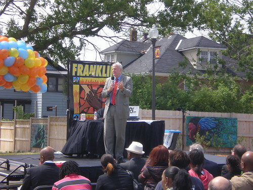 Franklin Square Apartments Grand Opening