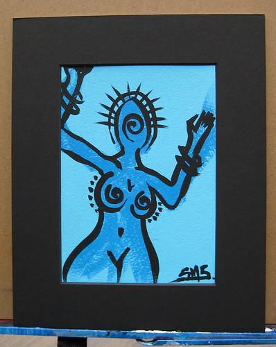Blue Girl: Whirl