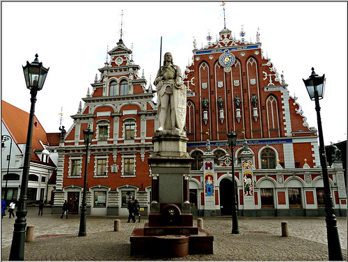 Blackheads Hause in Riga, Latvia