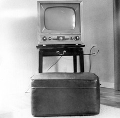 Early 1950s Television Set