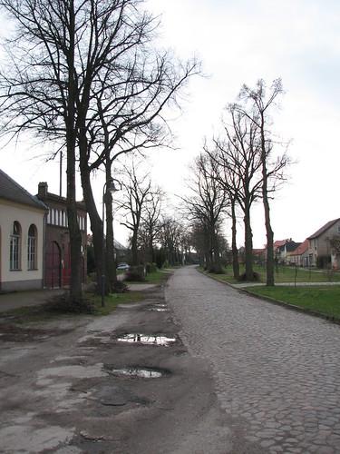 Baumschnitt: Dorfstraße