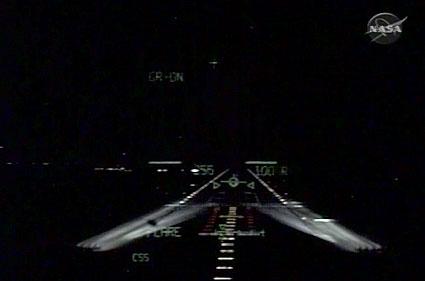 sts-123 Endeavour landing @ KSC