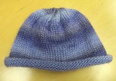 soy silk baby hat