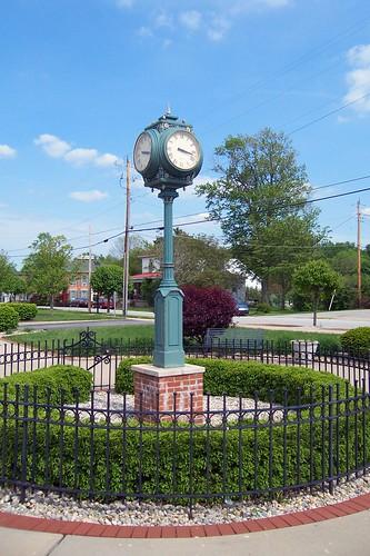 Clock, Osgood, Indiana