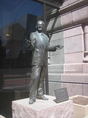 Hubert Humphrey by Rodger Brodin