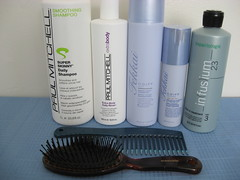 Hair Use (Cristina Robinson) Tags: conair paulmitchell fredericfekkai infusium