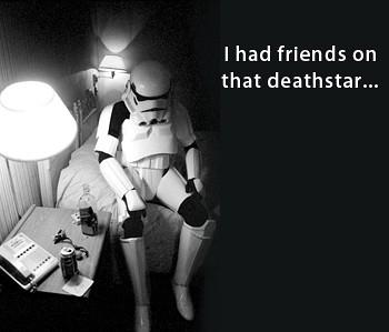 La déprime du SW trooper