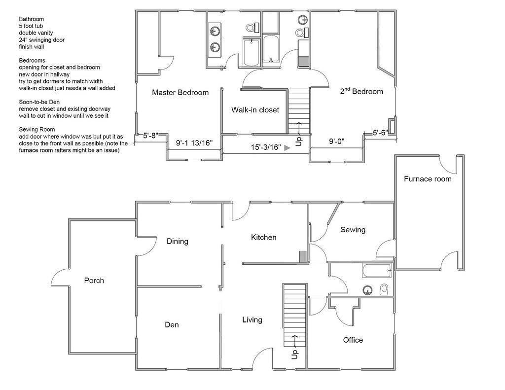 Visio Floor Plans