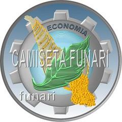 simbolo economia emblema 3d
