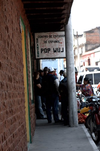 Pop Wuj Clinic on the street