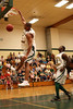 Packers wide receiver Ruvell Martin with a dunk