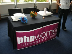 PHPWomen stand