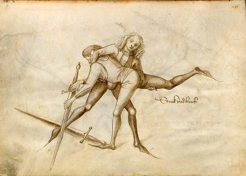 03-Lucha cuerpo a cuerpo sin armadura con la espada larga 39v
