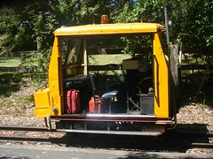 Work truck PuffingBilly (maroochymax) Tags: trolley rail