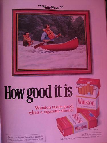 winston сигареты дизайн