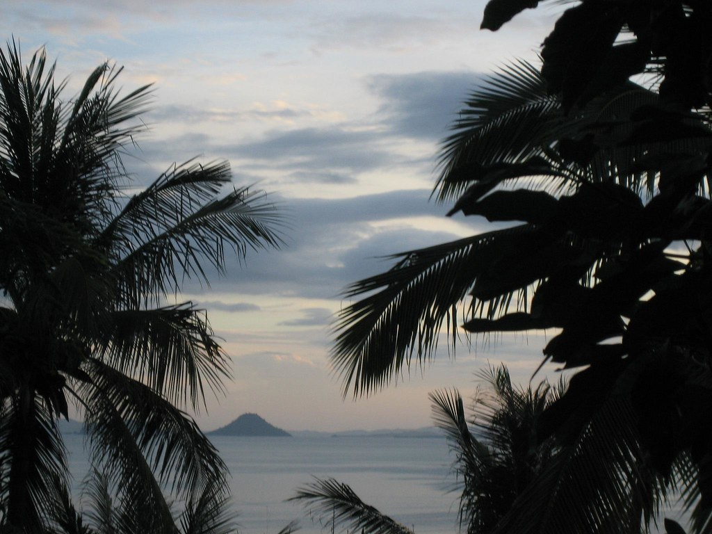 View from Labuhanbajo, Flores, Indonesia