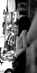 Un attimo di tranquillit . . . (Gulixx - Made in north Africa) Tags: city people urban blackandwhite bw italy white black art blanco girl fun happy reflex nikon italia day play live bn explore sicily palermo bianco nero sicilia italians d80