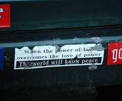 The World Will Know Peace