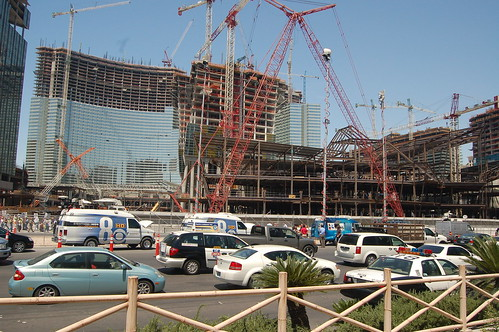 CityCenter Construction, Las Vegas